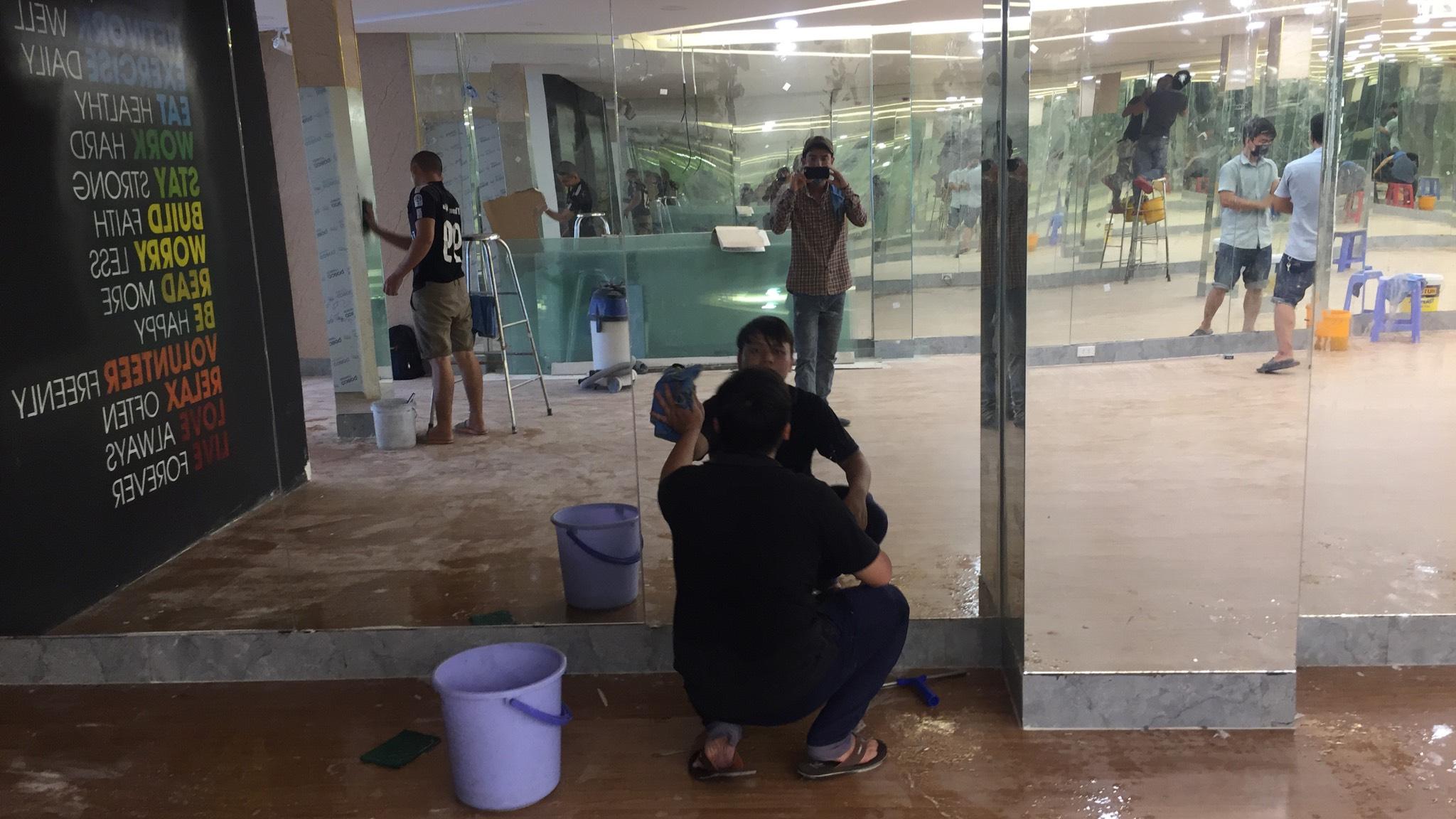 Dịch vụ dọn vệ sinh câu lạc bộ phòng gym  Copy